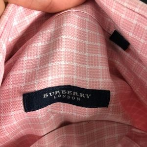 Burberry Shirts - Burberry Mens Oxford Long Sleeve size large